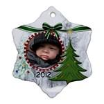 Christmas Tree Ornament (1 Sided) - Ornament (Snowflake)