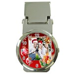 Christmas  - Money Clip Watch