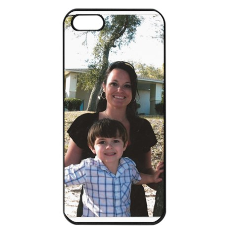 Hannah By Natalie Burns   Apple Iphone 5 Seamless Case (black)   47pec5cxi6lu   Www Artscow Com Front