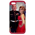 Sarah and Shawn - Apple iPhone 5 Hardshell Case (PC+Silicone)