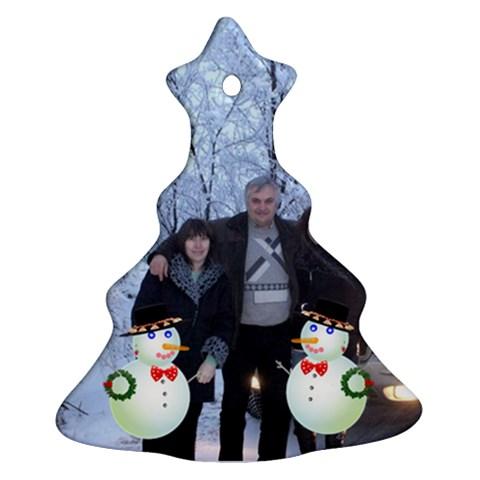Koleda2 By Greta Velikova   Ornament (christmas Tree)    Wuamlwvu02ix   Www Artscow Com Front