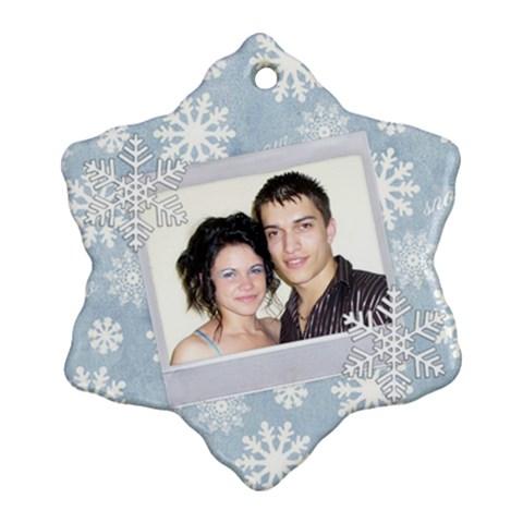 Koleda14 By Greta Velikova   Ornament (snowflake)   2ffz4br32yhj   Www Artscow Com Front