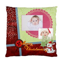 Merry Christmas By Betty   Standard Cushion Case (two Sides)   Gotnqhjfjqqo   Www Artscow Com Front
