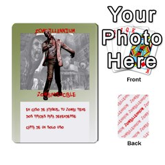 Zombies Aitor By Mrkaf   Playing Cards 54 Designs   X5rhlkwiwtat   Www Artscow Com Front - Heart10
