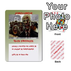 Zombies Aitor By Mrkaf   Playing Cards 54 Designs   X5rhlkwiwtat   Www Artscow Com Front - Spade7