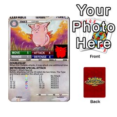 Pokemon 1 53 New By Seth   Playing Cards 54 Designs   Brp94g82ab0e   Www Artscow Com Front - Heart6