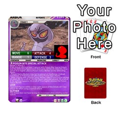 Pokemon 1 53 New By Seth   Playing Cards 54 Designs   Brp94g82ab0e   Www Artscow Com Front - Diamond6
