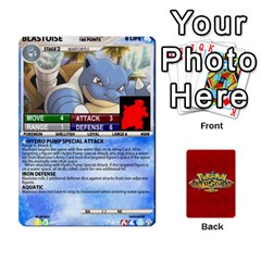 Pokemon 1 53 New By Seth   Playing Cards 54 Designs   Brp94g82ab0e   Www Artscow Com Front - Club8