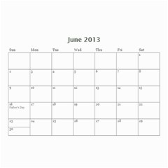 Nana By Tina Rosamond   Wall Calendar 8 5  X 6    Aw75sbs9od5z   Www Artscow Com Jun 2013