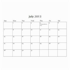 Nana By Tina Rosamond   Wall Calendar 8 5  X 6    Aw75sbs9od5z   Www Artscow Com Jul 2013