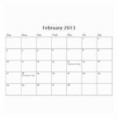 Nana By Tina Rosamond   Wall Calendar 8 5  X 6    Aw75sbs9od5z   Www Artscow Com Feb 2013