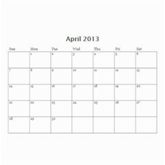 Nana By Tina Rosamond   Wall Calendar 8 5  X 6    Aw75sbs9od5z   Www Artscow Com Apr 2013