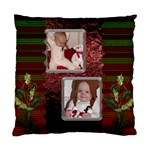 Red and Green Cushion Case (1 Sided) - Standard Cushion Case (One Side)