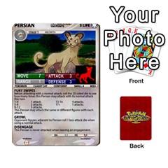 Pokemon 1 53 New By Seth   Playing Cards 54 Designs   Nvabu06endwn   Www Artscow Com Front - Spade2