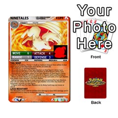 Pokemon 1 53 New By Seth   Playing Cards 54 Designs   Nvabu06endwn   Www Artscow Com Front - Heart3