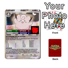 Pokemon 1 53 New By Seth   Playing Cards 54 Designs   Nvabu06endwn   Www Artscow Com Front - Heart8