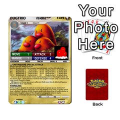 Pokemon 1 53 New By Seth   Playing Cards 54 Designs   Nvabu06endwn   Www Artscow Com Front - Spade5