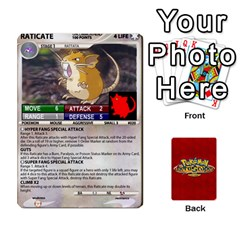 Pokemon 1 53 New By Seth   Playing Cards 54 Designs   Nvabu06endwn   Www Artscow Com Front - Diamond10