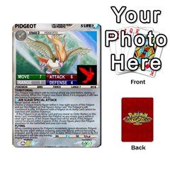 Queen Pokemon 1 53 New By Seth   Playing Cards 54 Designs   Nvabu06endwn   Www Artscow Com Front - DiamondQ