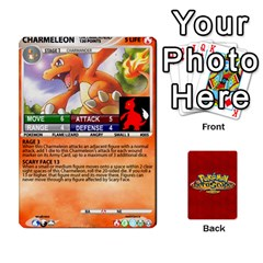 King Pokemon 1 53 New By Seth   Playing Cards 54 Designs   Nvabu06endwn   Www Artscow Com Front - ClubK