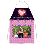 A family created by love. - Full Print Apron
