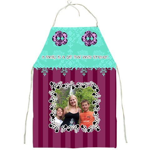 A Family Is A Gift That Lasts Forever  By Digitalkeepsakes   Full Print Apron   Jappj36jk8o7   Www Artscow Com Front