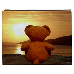 Teddy s Sunset Cosmetic Bag (XXXL) by OurInspiration