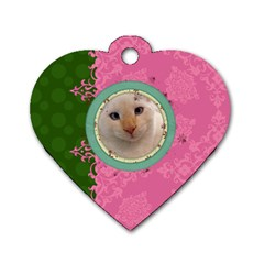 Fancy Tag By Digitalkeepsakes   Dog Tag Heart (two Sides)   N8vt8mzy0zcs   Www Artscow Com Front