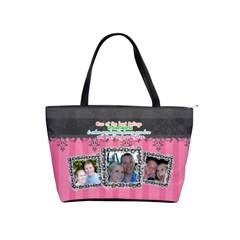 Hug The Person You Love  By Digitalkeepsakes   Classic Shoulder Handbag   U17xiyalzncq   Www Artscow Com Front
