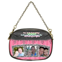 Hug The Person You Love  By Digitalkeepsakes   Chain Purse (two Sides)   Vofn6hodgab8   Www Artscow Com Front