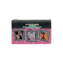 Hug The One You Love  By Digitalkeepsakes   Cosmetic Bag (small)   1agdh86c0c97   Www Artscow Com Front