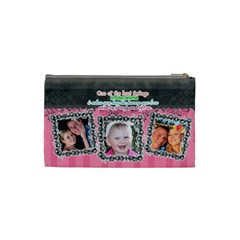 Hug The One You Love  By Digitalkeepsakes   Cosmetic Bag (small)   1agdh86c0c97   Www Artscow Com Back