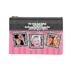 Hug The One You Love  By Digitalkeepsakes   Cosmetic Bag (large)   Sgz13c3syon9   Www Artscow Com Front