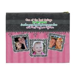Hug The One You Love  By Digitalkeepsakes   Cosmetic Bag (xl)   9p357vyg7kcn   Www Artscow Com Back