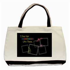 I Live For Moments Like These  By Digitalkeepsakes   Basic Tote Bag (two Sides)   O8fdsoeqmyhf   Www Artscow Com Front