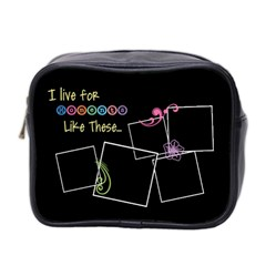 I Live For Moments Like These  By Digitalkeepsakes   Mini Toiletries Bag (two Sides)   Nn2h0e0qgrzd   Www Artscow Com Front