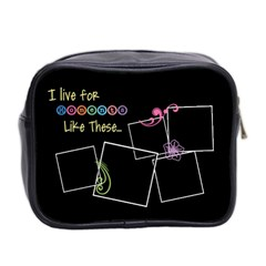 I Live For Moments Like These  By Digitalkeepsakes   Mini Toiletries Bag (two Sides)   Nn2h0e0qgrzd   Www Artscow Com Back