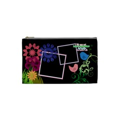 Together We Have It All  By Digitalkeepsakes   Cosmetic Bag (small)   Prgjy7codwfi   Www Artscow Com Front