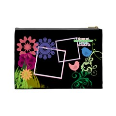 Together We Have It All  By Digitalkeepsakes   Cosmetic Bag (large)   87z8l7xpracy   Www Artscow Com Back