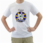 Club Shirt - Mens T Shirt - Men s T-Shirt (White) (Two Sided)