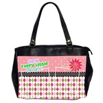 Cherish every little momnet. - Oversize Office Handbag (2 Sides)