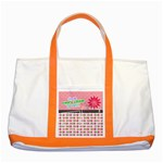 Cherish every little moment. - Two Tone Tote Bag