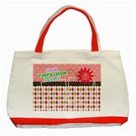 Cherish every little moment. - Classic Tote Bag (Red)