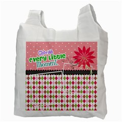 Cherish Every Little Moment  By Digitalkeepsakes   Recycle Bag (two Side)   Y5d57hs7iub9   Www Artscow Com Back