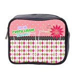 Cherish every little moment. - Mini Toiletries Bag (Two Sides)