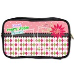 Cherish every little moment. - Toiletries Bag (One Side)