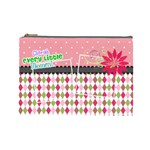 Cherish every little moment. - Cosmetic Bag (Large)
