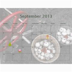 Calendar 2013 For Jisca By Elizabeth Marcellin   Wall Calendar 11  X 8 5  (12 Months)   Julxwiy3851s   Www Artscow Com Sep 2013