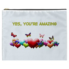 You re Amazing Cosmetic Bag (XXXL) by OurInspiration