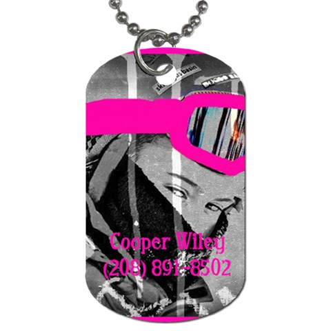 By Vicki   Dog Tag (one Side)   Eff6isz6n1c9   Www Artscow Com Front